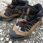 ゴアテックス素材の登山靴