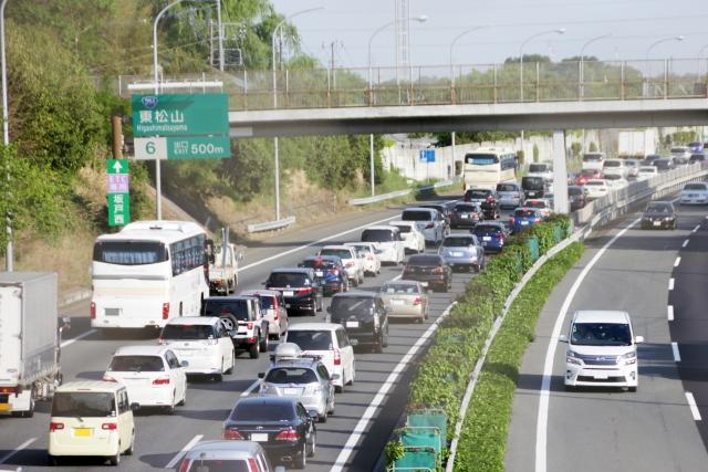 高速道路,渋滞
